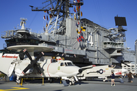 Midway Aircraft Carrier Museum, San Diego, California, United States of America, North America 20062068483| 写真素材・ストックフォト・画像・イラスト素材|アマナイメージズ
