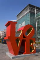 Love Sculpture by Robert Indiana, 101 Tower, Taipei, Taiwan Island, Republic of China, Asia
