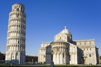Leaning Tower and Duomo, Pisa, UNESCO World Heritage Site, Tuscany, Italy, Europe 20062069310| 写真素材・ストックフォト・画像・イラスト素材|アマナイメージズ