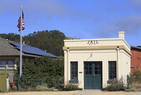 Old Jail in the Historic District, Half Moon Bay, California, United States of America, North America 20062070208| 写真素材・ストックフォト・画像・イラスト素材|アマナイメージズ