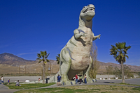 Dinosaur roadside attraction at Cabazon, Greater Palm Springs area, California, United States of America, North America 20062070688| 写真素材・ストックフォト・画像・イラスト素材|アマナイメージズ
