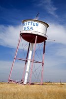 Leaning Tower of Texas, Historic Route 66 landmark, Groom, Texas, United States of America, North America 20062070734| 写真素材・ストックフォト・画像・イラスト素材|アマナイメージズ