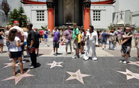 Grauman's Chinese Theatre, Hollywood Boulevard, Hollywood, Los Angeles, California, United States of America, North America 20062078011| 写真素材・ストックフォト・画像・イラスト素材|アマナイメージズ