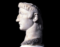 Marble portrait head from a statue of a Julio-Claudian princ 20065000190| 写真素材・ストックフォト・画像・イラスト素材|アマナイメージズ
