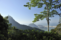Corcovado Hill and the Christ Redemptor statue in the Atlant 20070001939| 写真素材・ストックフォト・画像・イラスト素材|アマナイメージズ