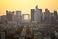 View of the district of La Defense, business center. Paris, Ile de France, France, Europe. 20088030506| 写真素材・ストックフォト・画像・イラスト素材|アマナイメージズ