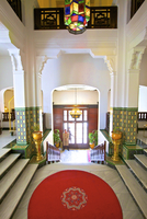 Entrance Of Five Star Hotel With Doorman, Tangier, Morocco, North Africa 20088056496| 写真素材・ストックフォト・画像・イラスト素材|アマナイメージズ