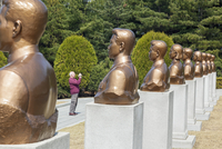 Democratic Peoples's Republic of Korea (DPRK), North Korea, Revolutionary Martyrs' Cemetary 20088060901| 写真素材・ストックフォト・画像・イラスト素材|アマナイメージズ