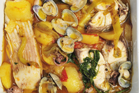 Fish stew (Caldeirada a Fragateiro). Portugal