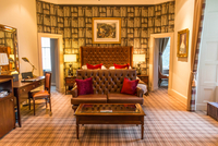 Guest room in the Meldrum Country House Hotel in Aberdeen, Scotland 20088071278| 写真素材・ストックフォト・画像・イラスト素材|アマナイメージズ