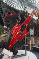 UAE, Abu Dhabi, Yas Island, Ferrari World Amusement Park, Ferrari Formula One racing car 20088082674| 写真素材・ストックフォト・画像・イラスト素材|アマナイメージズ