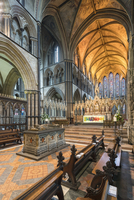 Europe, England, Worcestershire, Worcester, Worcester Cathedral Interior