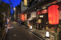 Japan, Kyoto, Gion district, Ponto-cho dori alley
