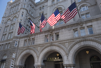 The Trump International Hotel in the Penn Quarter of Washington DC.
