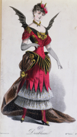Fancy dress costume for a female devil, from 'L'Art du Trave 22040050601| 写真素材・ストックフォト・画像・イラスト素材|アマナイメージズ