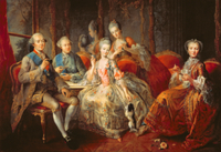 The Penthievre Family or The Cup of Chocolate, 1768 22040211999| 写真素材・ストックフォト・画像・イラスト素材|アマナイメージズ