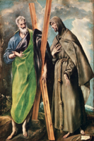 SS. Andrew and Francis of Assisi, after 1576 22040217563| 写真素材・ストックフォト・画像・イラスト素材|アマナイメージズ