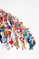 働く人々イメージ イラスト 22370000080  写真素材・ストックフォト・画像・イラスト素材 アマナイメージズ