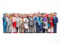 働く人々イメージ イラスト 22370000092  写真素材・ストックフォト・画像・イラスト素材 アマナイメージズ