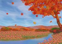風景・イラスト 22451023452| 写真素材・ストックフォト・画像・イラスト素材|アマナイメージズ