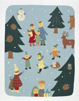 冬イメージ・イラスト 22451023569| 写真素材・ストックフォト・画像・イラスト素材|アマナイメージズ