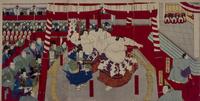 天覧相撲 22451034190  写真素材・ストックフォト・画像・イラスト素材 アマナイメージズ
