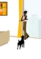 電話で話をする女性 22987000068  写真素材・ストックフォト・画像・イラスト素材 アマナイメージズ