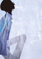 見上げる女性 22987000154  写真素材・ストックフォト・画像・イラスト素材 アマナイメージズ