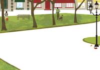 緑のある街 22987000178  写真素材・ストックフォト・画像・イラスト素材 アマナイメージズ
