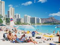 ワイキキビーチ 25356000793| 写真素材・ストックフォト・画像・イラスト素材|アマナイメージズ
