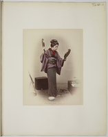 """Views and costumes of Japan"", Jeune femme aux deux miroirs 26004021114