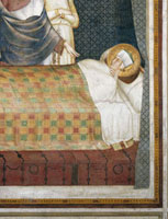 Christ appears to St Martin in his sleep,wearing the cloak 26144000199| 写真素材・ストックフォト・画像・イラスト素材|アマナイメージズ