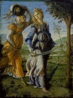 Painting by Sandro Botticelli of 'The return of Judith' af 26144000239| 写真素材・ストックフォト・画像・イラスト素材|アマナイメージズ