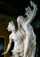 Apollo and Daphne, detail of the busts. 26144000248| 写真素材・ストックフォト・画像・イラスト素材|アマナイメージズ