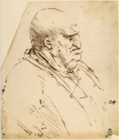 Caricature of the profile of a fat man,pen drawing on white 26144000364| 写真素材・ストックフォト・画像・イラスト素材|アマナイメージズ