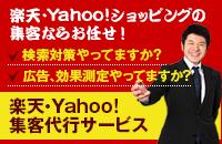 楽天・Yahoo!集客代行サービス