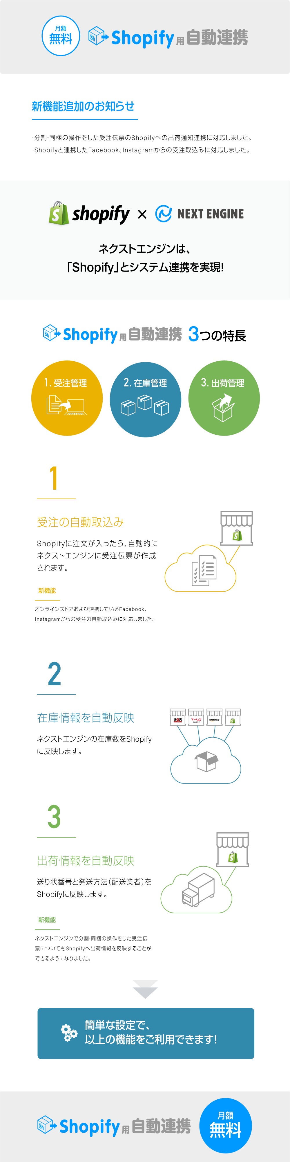 Shopify用 自動連携