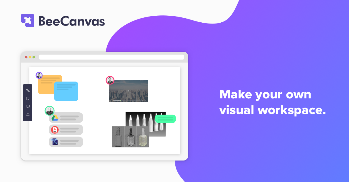 BeeCanvas – All-in-one visual workspace
