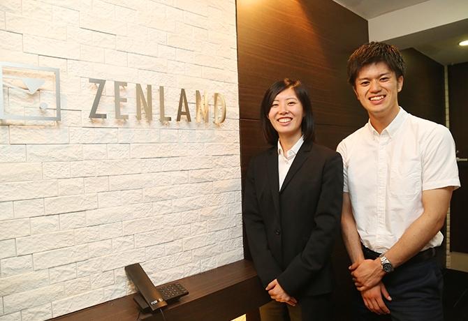 「求められた事に対して1つでも付加価値をつけたい」株式会社ゼン・ランドで活躍しているインターン生にインタビュー