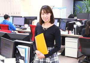 マーケティング業務を担当しています(慶應義塾大学3年)