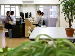 業務拡大に伴い、4月に開設された新オフィス