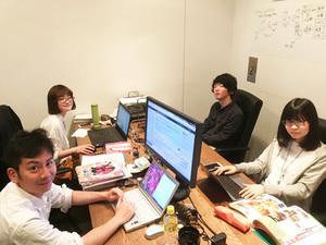 オフィスの風景♪