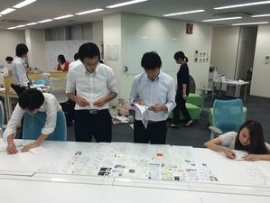社員・学生の隔たりなく、コンテンツ制作も新アイディア検討も学生・社会人ともに行います。