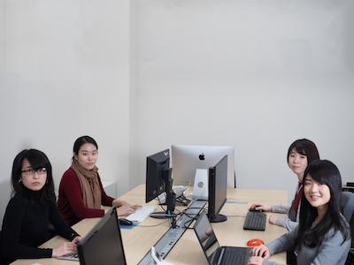 インターン生も多数活躍中!実績のある社員〜学生まで幅広いメンバーが揃っています。