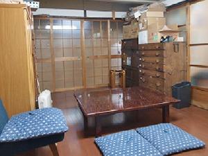 応接室兼休憩室です