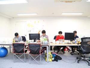 オフィスはEastVenturesが運営する渋谷のシェアオフィス!渋谷駅徒歩3分の好立地です!