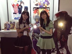 去年は東京ゲームショーに出展しました