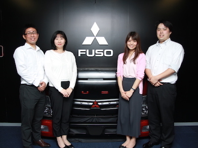三菱ふそうトラック・バス株式会社【東京】