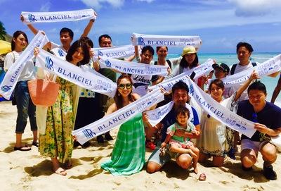 写真は去年6月に行ったハワイ旅行です!