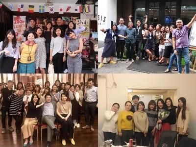 タイ、インドネシア、上海、北京のメンバー。各国のスタッフとコミュニケーションする国際色豊かな環境です。